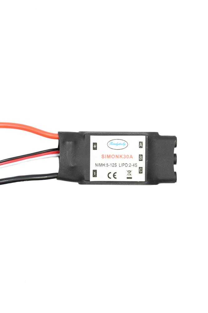 30A SimonK Brushless Speed Controller ESC 2S-4S & 5V BEC | Flying Tech