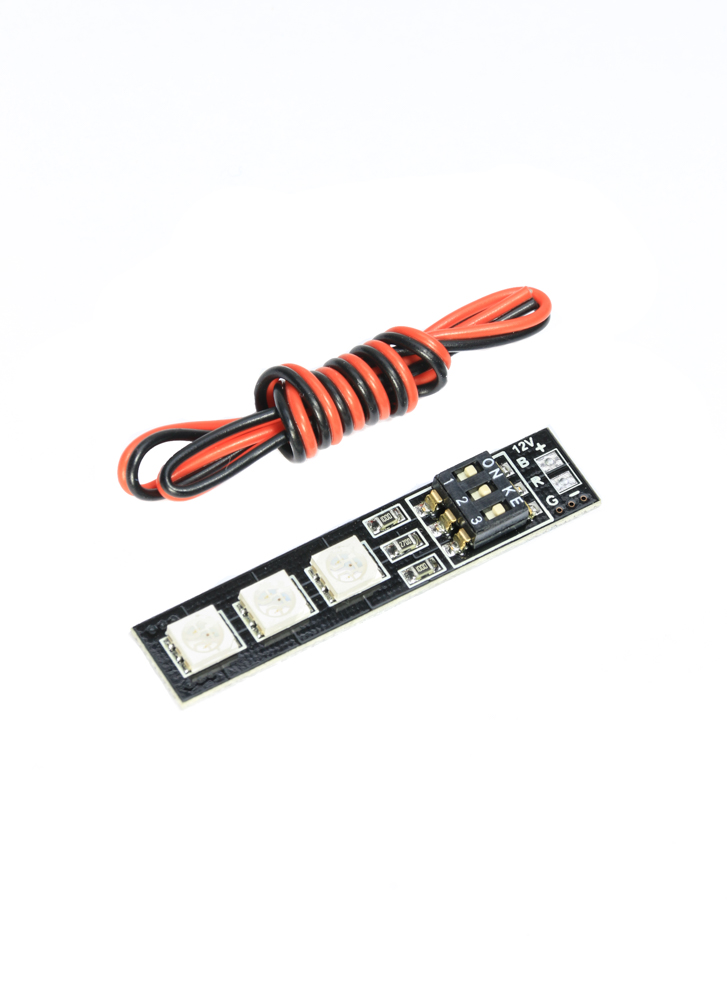 rgb 5050 7 colour dip switch 12v 3s  16v 4s  led light board