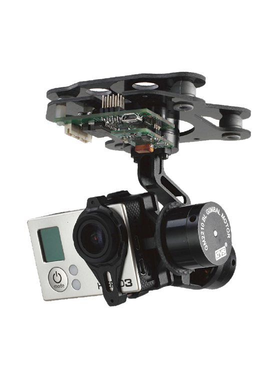 Dys Smart 3 Axis Gopro Brushless Gimbal Flying Tech