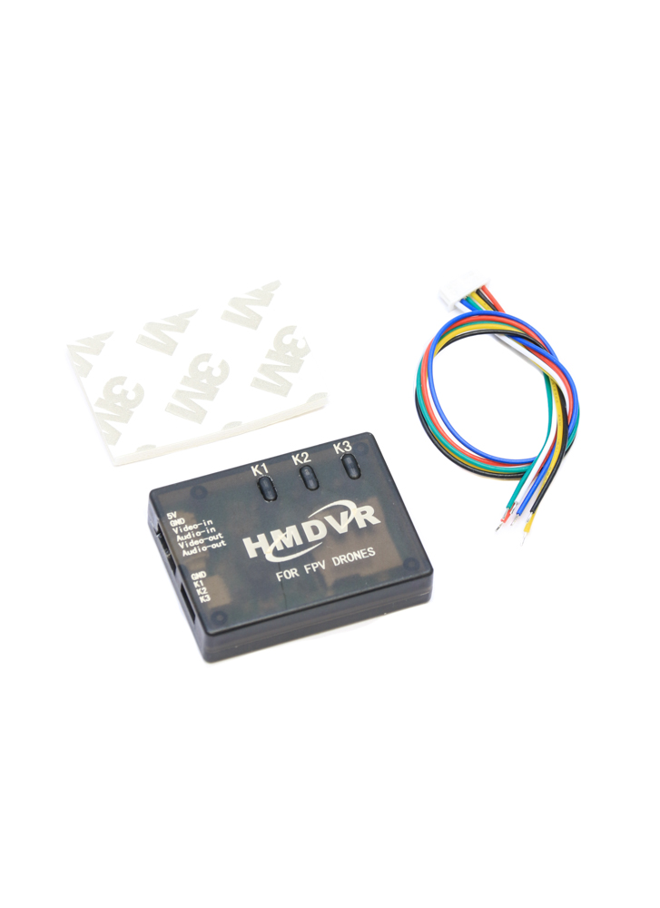 Mini Digital Video Recorder HM DVR for FPV Racing Drones | Flying Tech