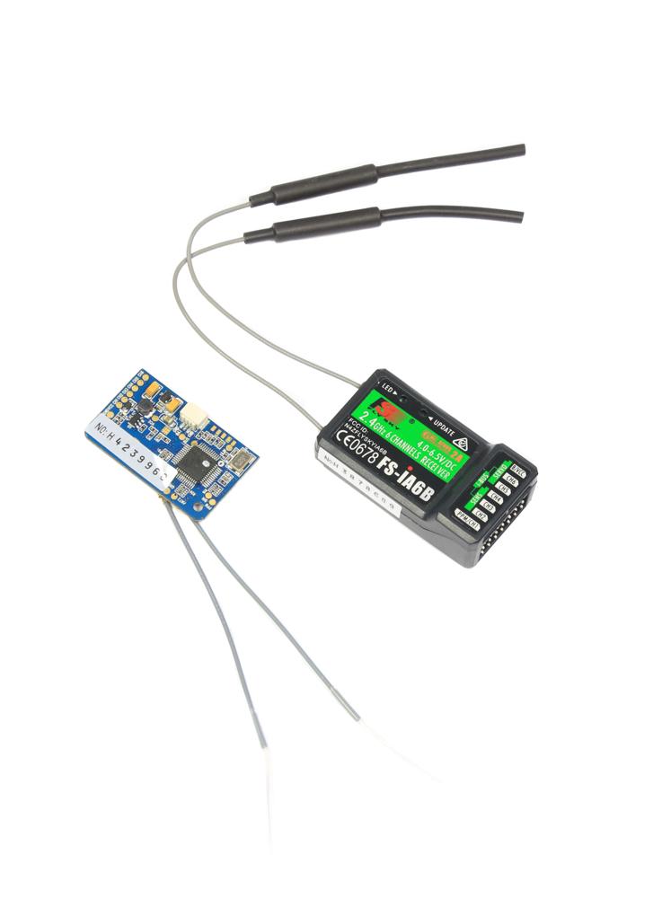 FlySky FS-X6B 2 4Ghz AFHDS PWM iBUS PPM Receiver 18CH