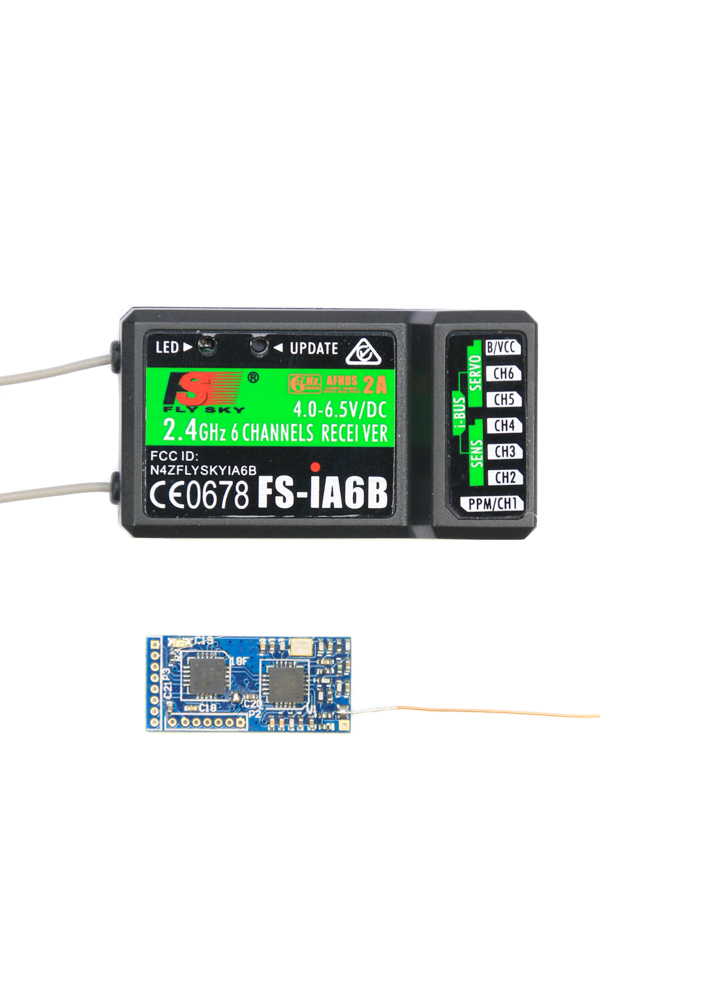 Micro 2 4Ghz 8CH PPM Receiver Compatible with FlySky