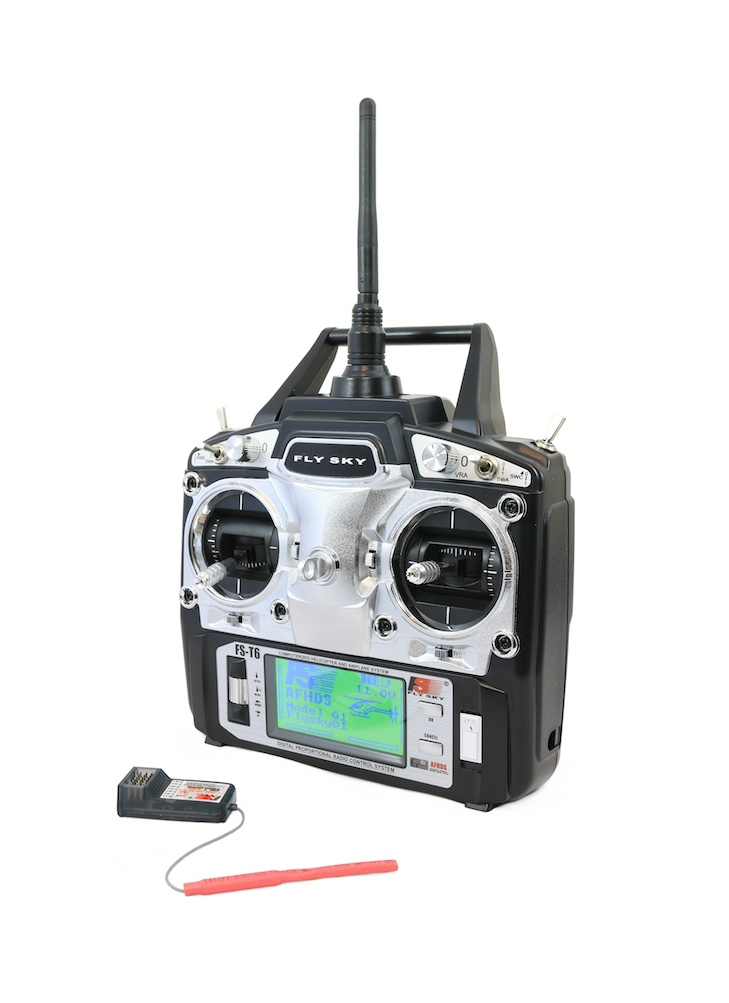 flysky fs t6 6 channel 2 4ghz digital radio system mode 2 flying tech. Black Bedroom Furniture Sets. Home Design Ideas