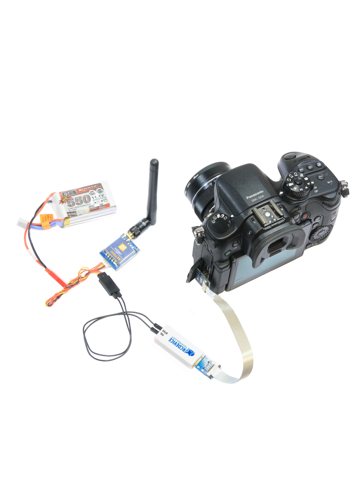 fpv rcd3016 mini    micro hdmi to av converter  gh4  nex  5d