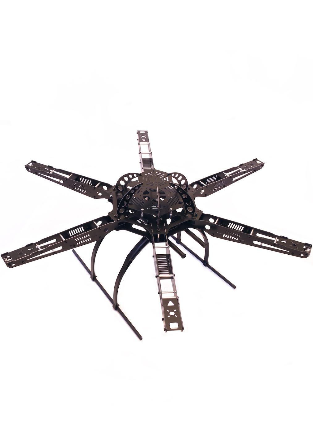 Fiberglass Hexacopter Frame 655 | Flying Tech
