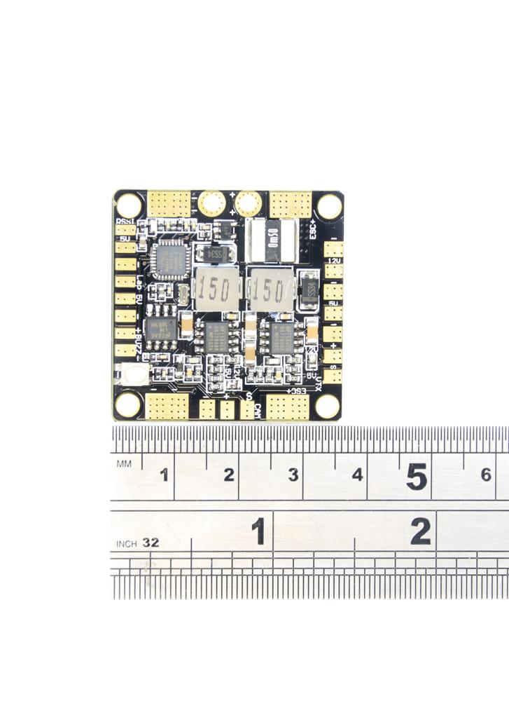 PROSD Mini Quad PDB with 12V / 5V BECs, LC Filter & FPV OSD | Flying