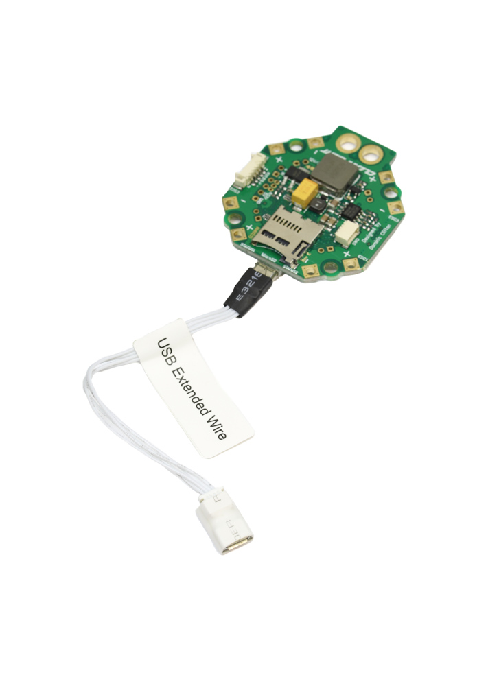 Lightweight Flight Controller Micro USB (B) Extension Wire | Flying Tech