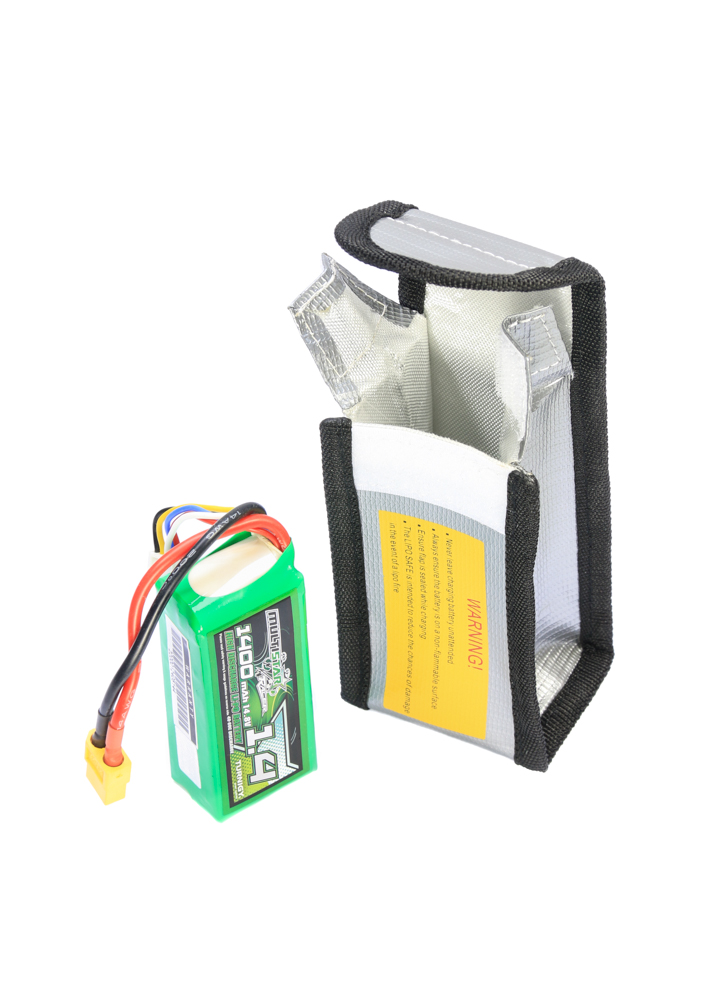 Fire Proof Safety RC LIPO Battery Safe Charging Guard Bag *UK SHIPPING*