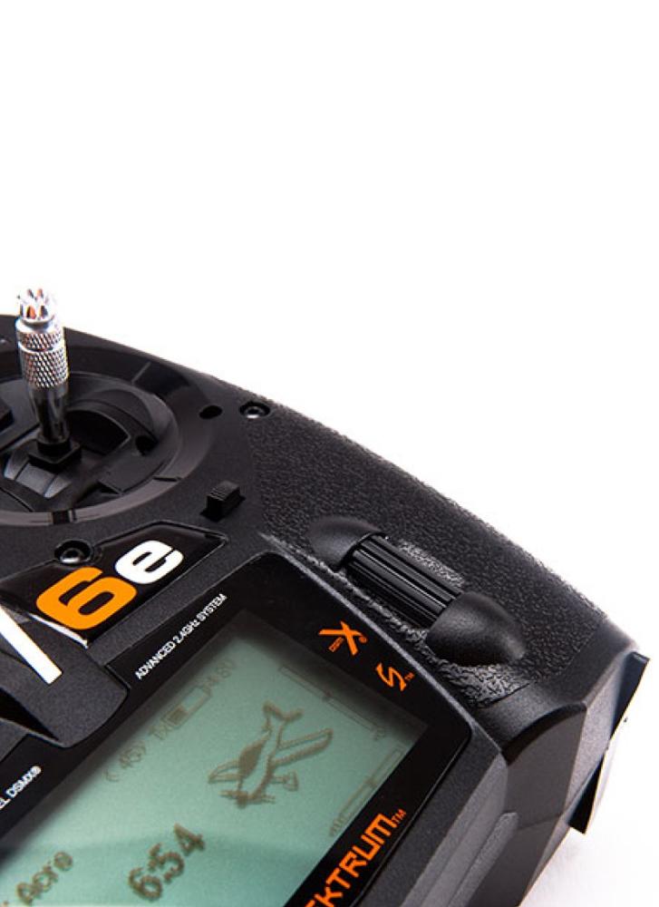 Spektrum DX6E Transmitter & AR610 2 4GHz Receiver (EU)   Flying Tech