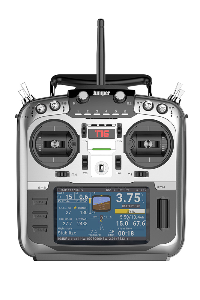 Jumper T16 OpenTx Multi-Protocol Radio Transmitter | Flying Tech