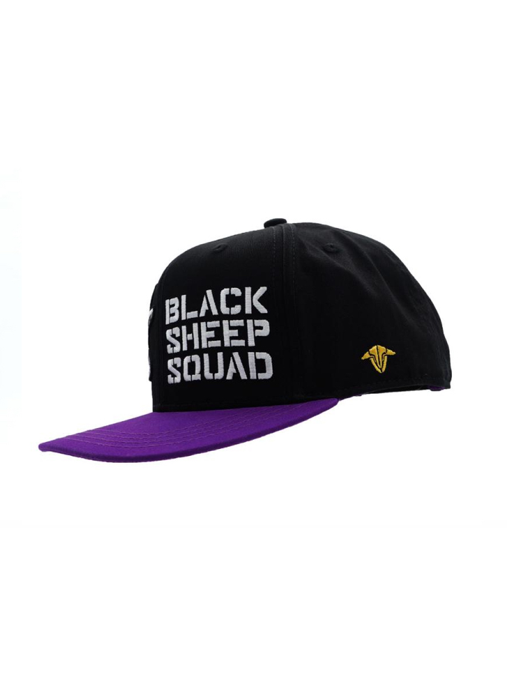 e1144ed4d33 TBS Squad Cap TBS Squad Cap 2018 Purple   Black Team BlackSheep ...