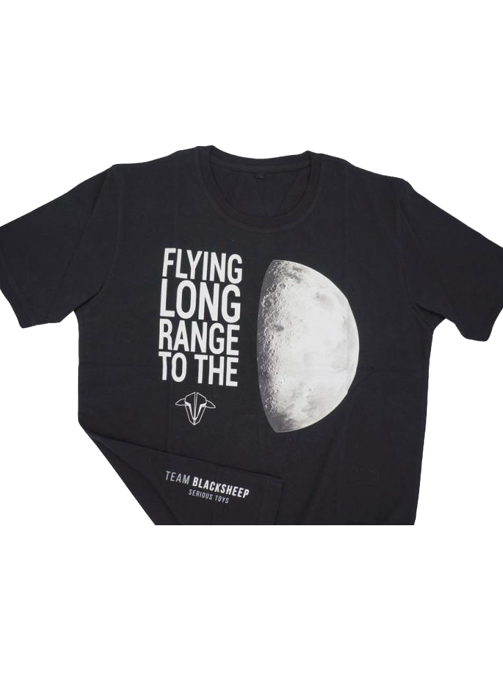 38b177b4ae1 To the Moon Team BlackSheep TBS Cotton T-Shirt - Black