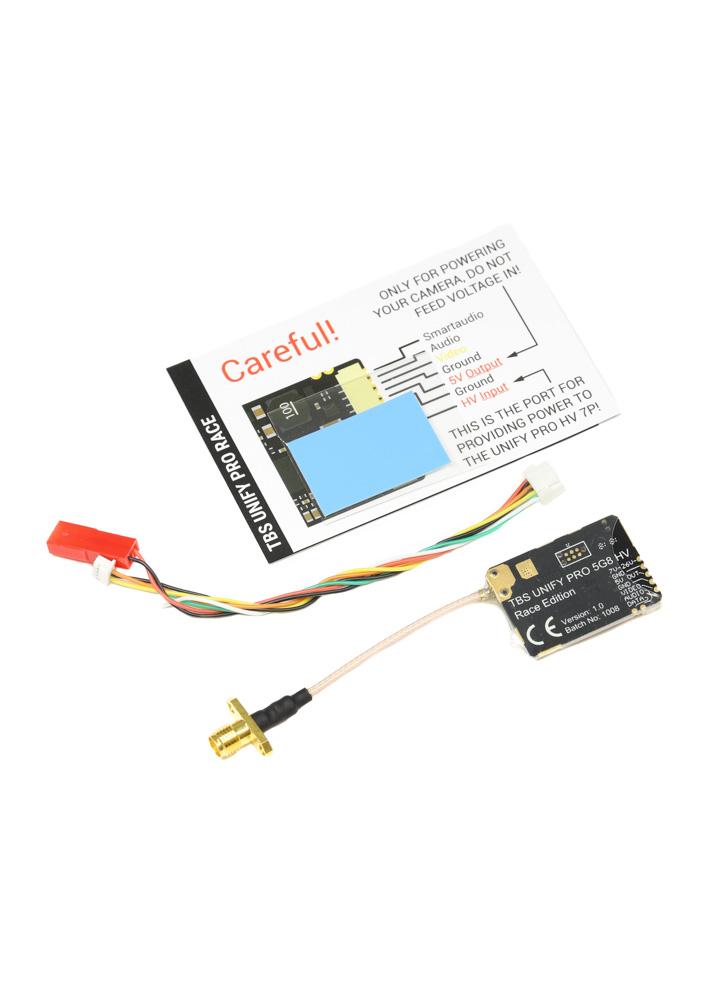 TBS Unify Pro 5G8 HV RACE SMA Video Transmitter 25-200mW