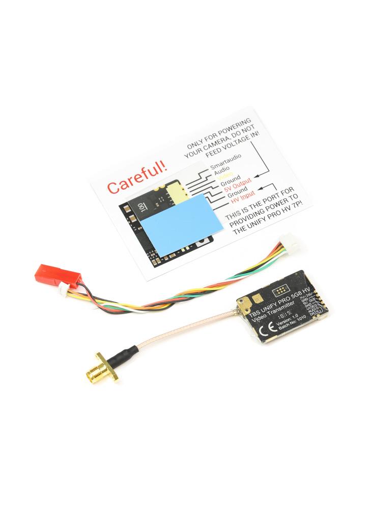 TBS Unify Pro 5G8 HV Video Transmitter 25-800mW (SMA