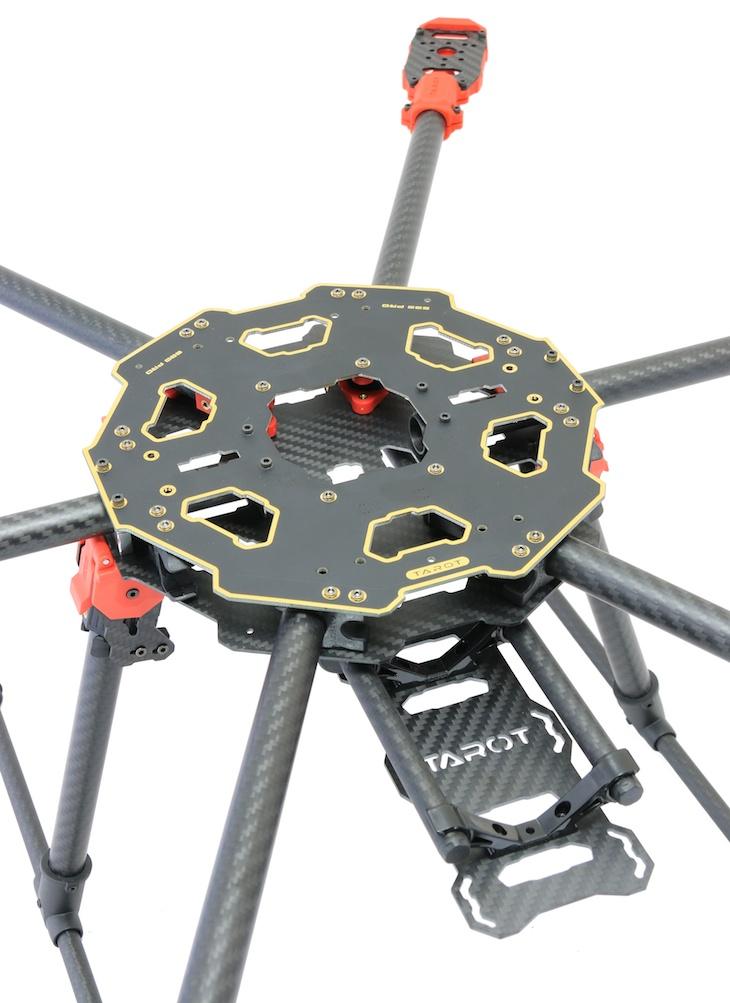 Tarot 680 PRO Carbon Fibre Foldable Hexacopter Frame | Flying Tech