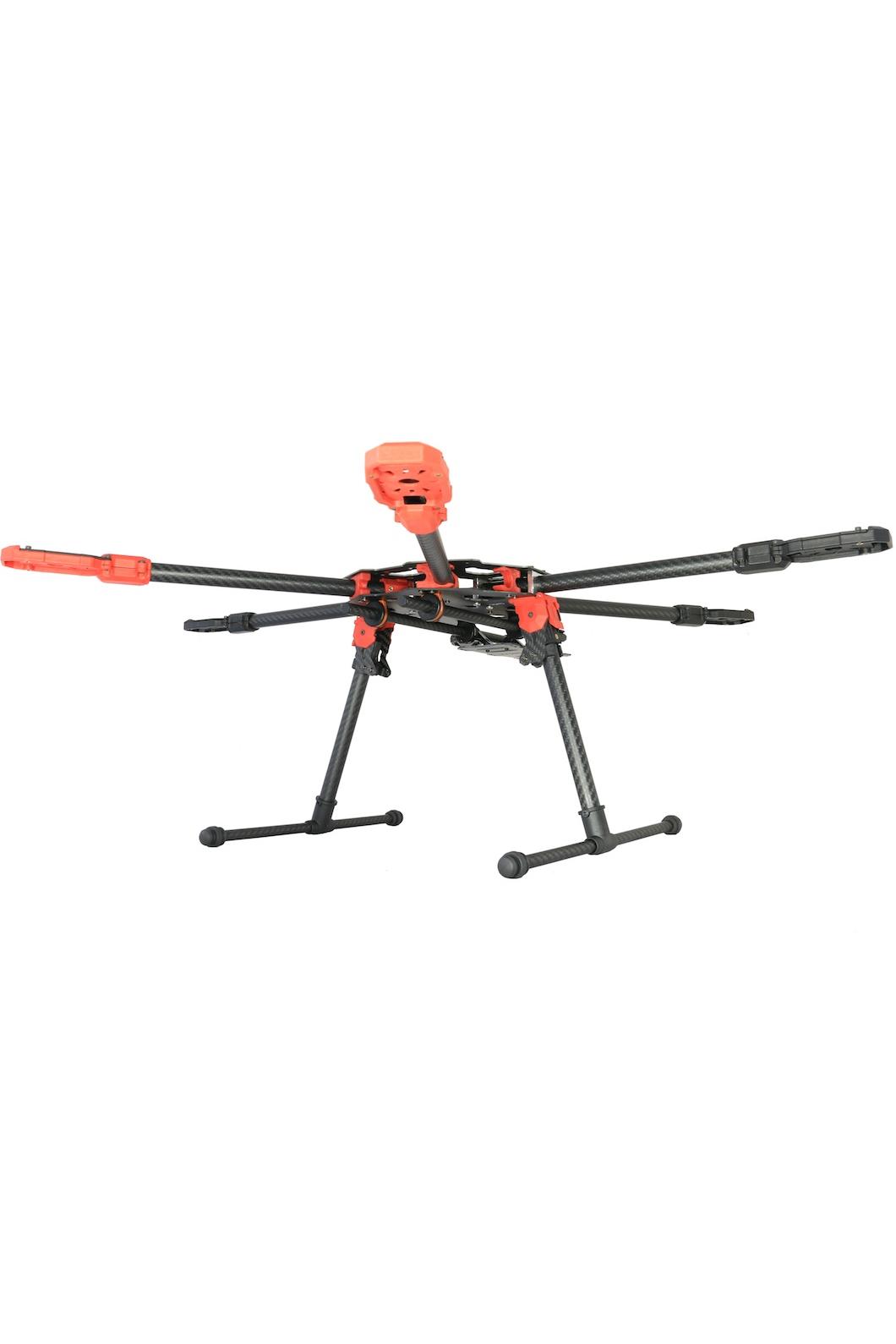 tarot 680 pro carbon fibre foldable hexacopter frame