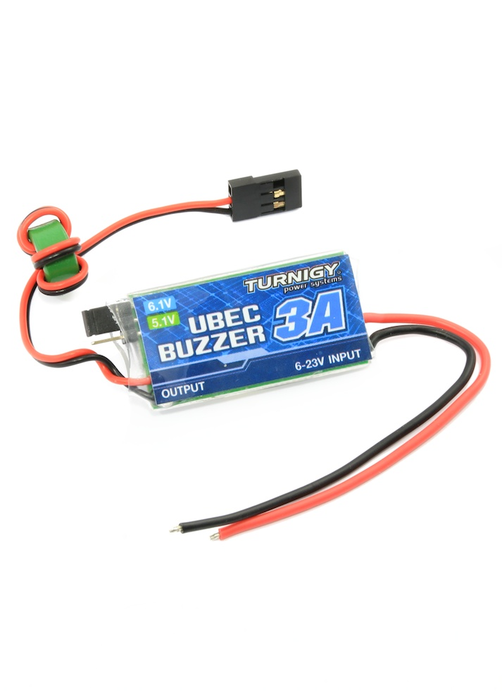 Turnigy 3a Ubec With Low Voltage Buzzer 5 6v Output