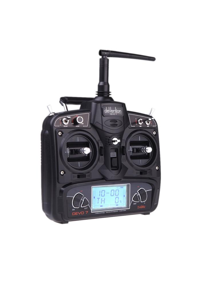 Walkera Devo 7 2 4ghz 7 Ch Digital Radio Transmitter Flying Tech