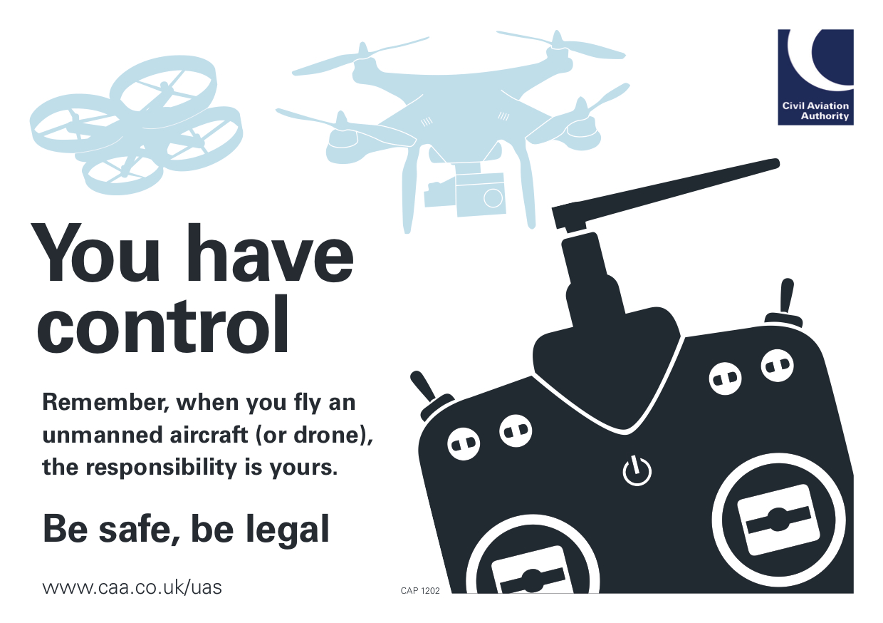 UK CAA Drone Regulations Fact Sheet