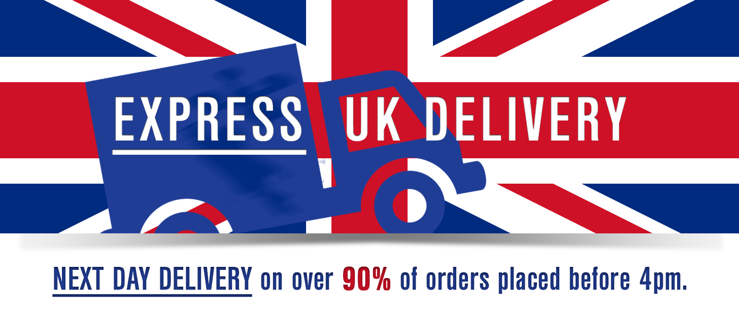 UK Express Shipping - Next Day Delivery on orders placed before 4pm