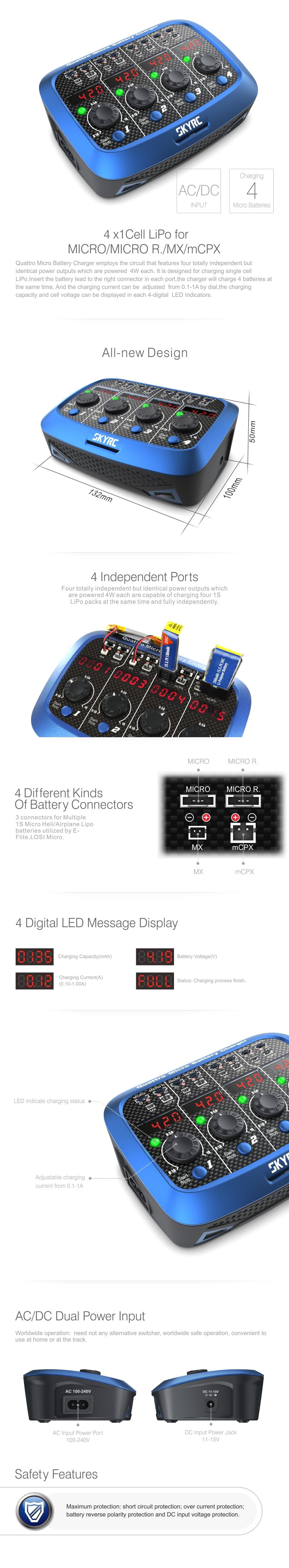 SkyRC Quattro Product Sheet