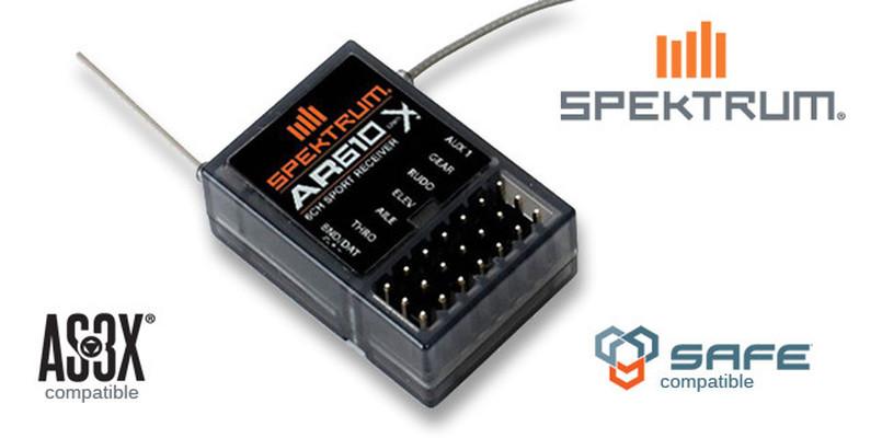 Full-Range AR610 DSMX Receiver