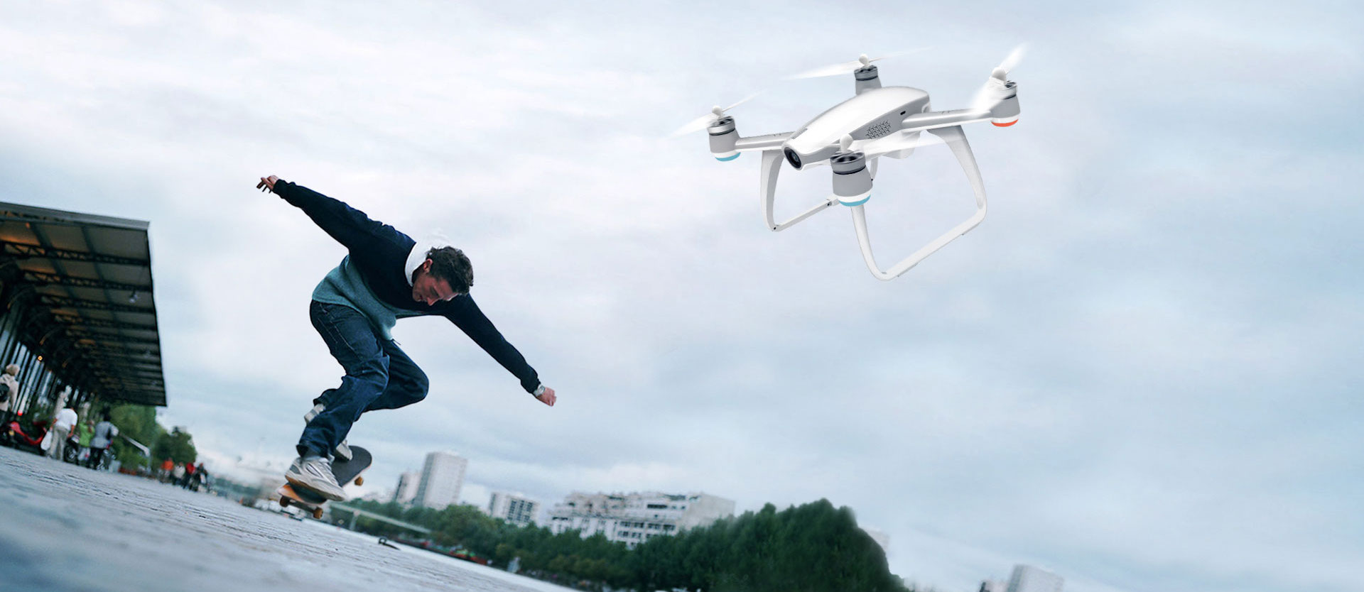 Walkera AIBAO Drone with 4K HD Action Camera