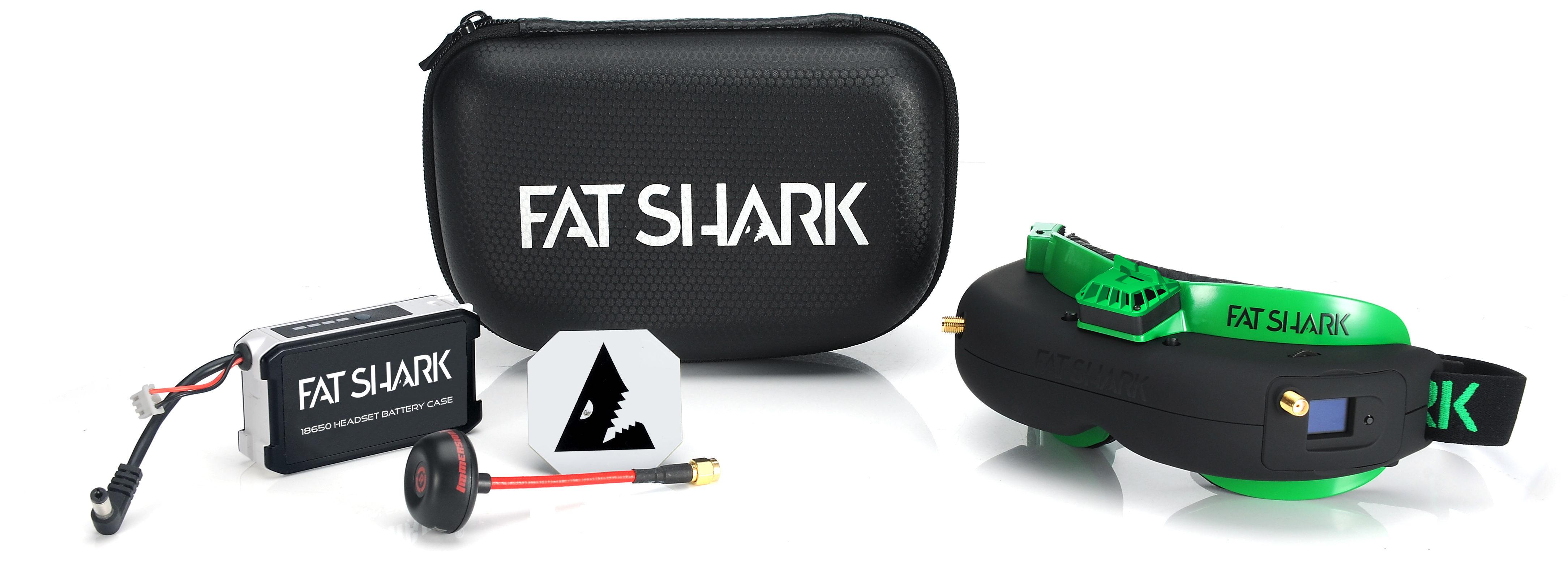 Fat Shark Attitude V5 OLED FPV Goggles w/ Diversity Receiver Set
