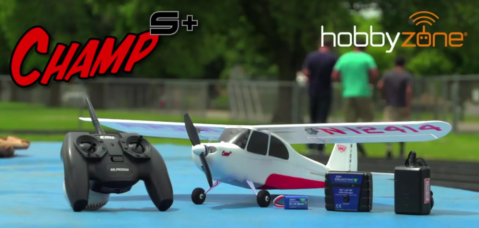 Hobbyzone Champ S+ RTF with SAFE Plus GPS Technology