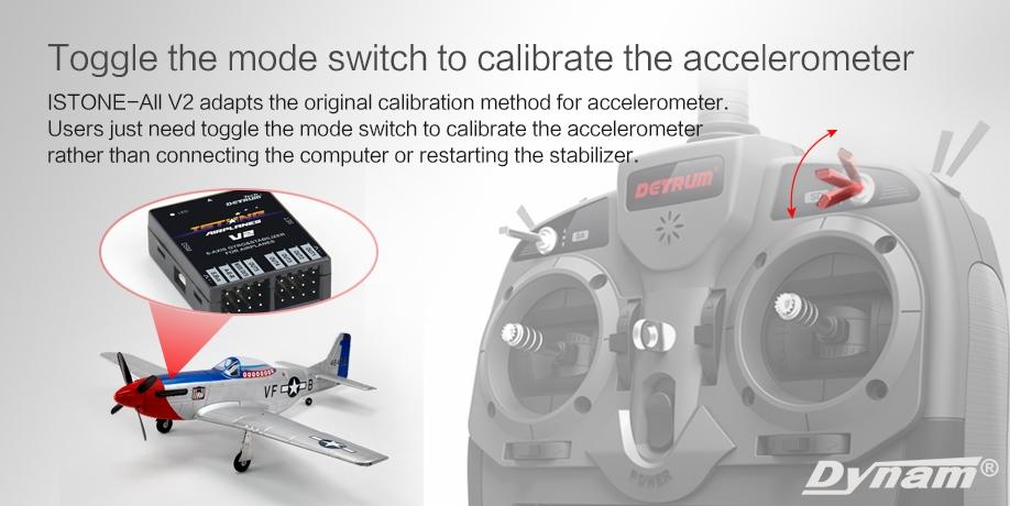 Detrum iStonel V2 Accelerometer calibration