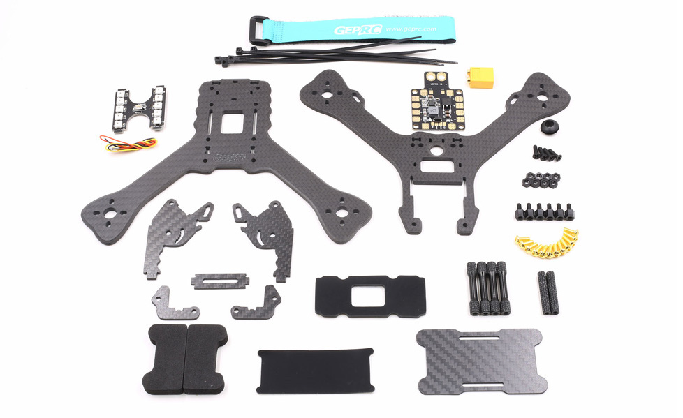 GEPRC GEP-RX5 Hawk Kit Parts