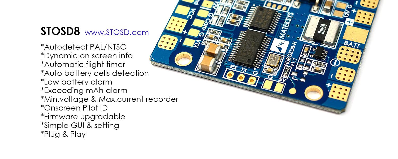 STOSD8 Open Source OSD