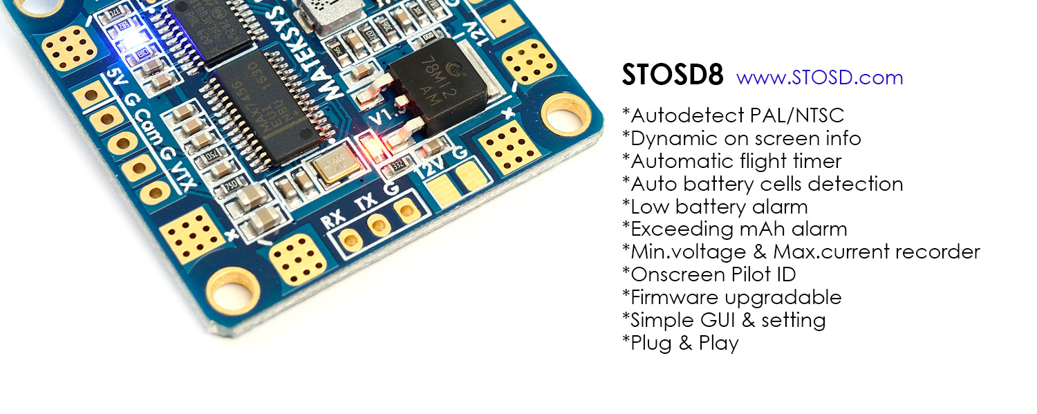 Matek HUBOSD ECO Power Board