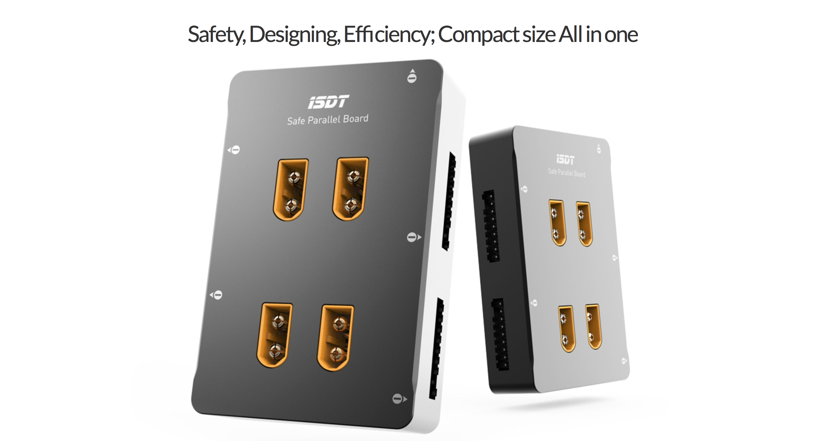 ISDT XT60 1-8S Compact Safe Parallel Charging Board