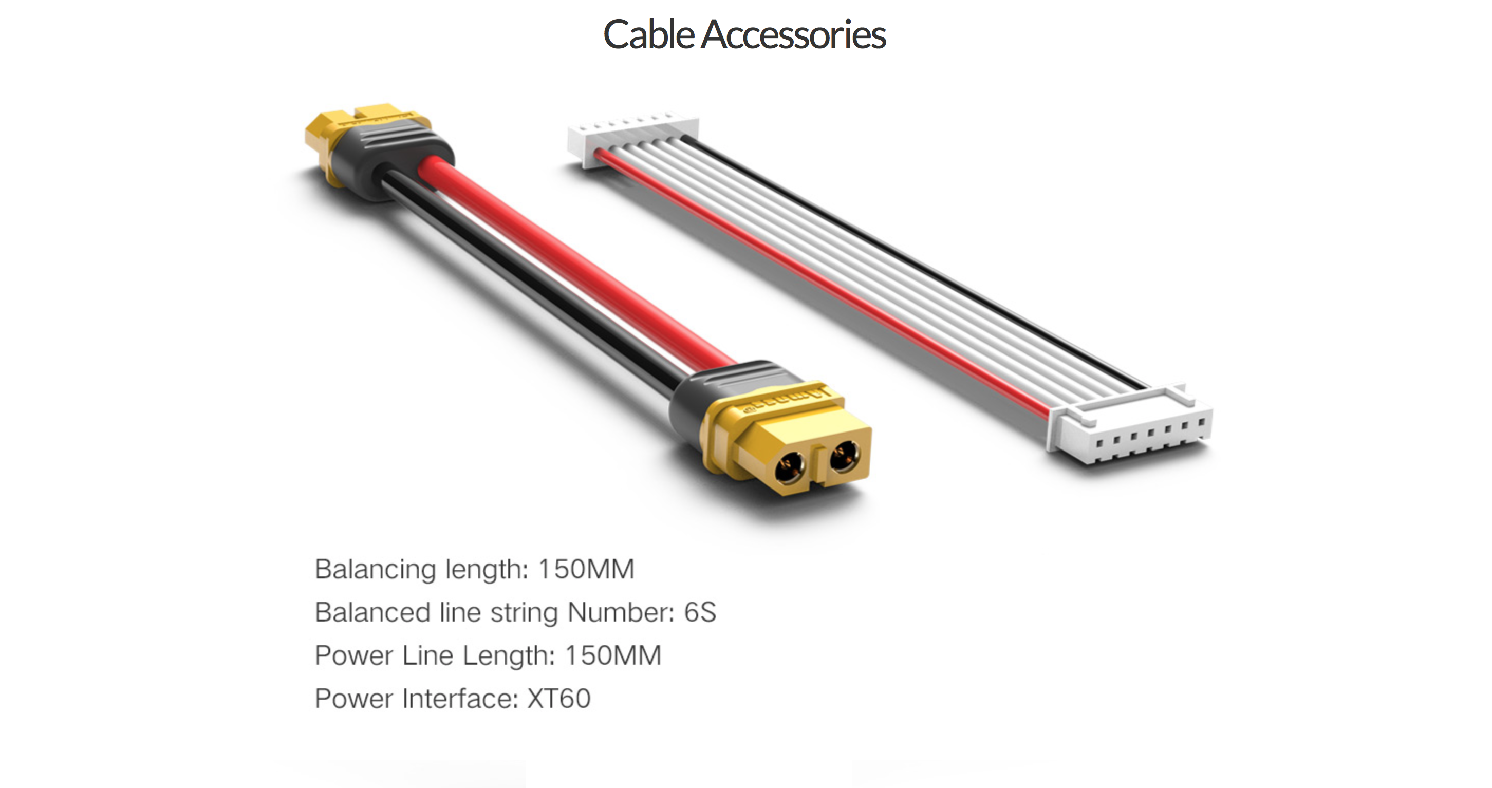 ISDT PC-4860 Cables