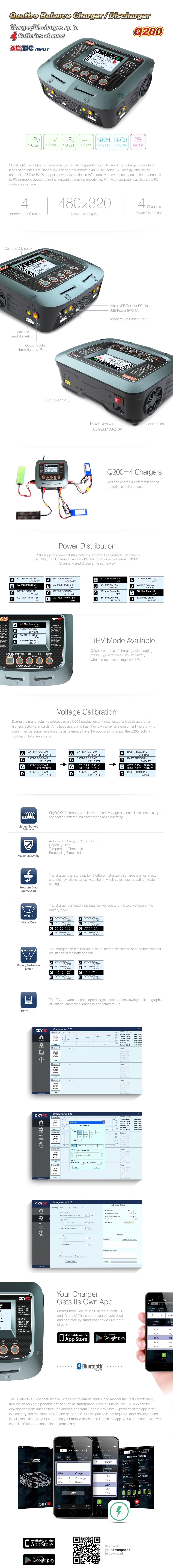 Q200 Charger Information