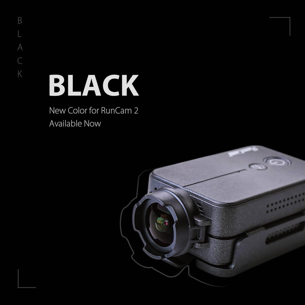 New Colour for RunCam 2 - BLACK