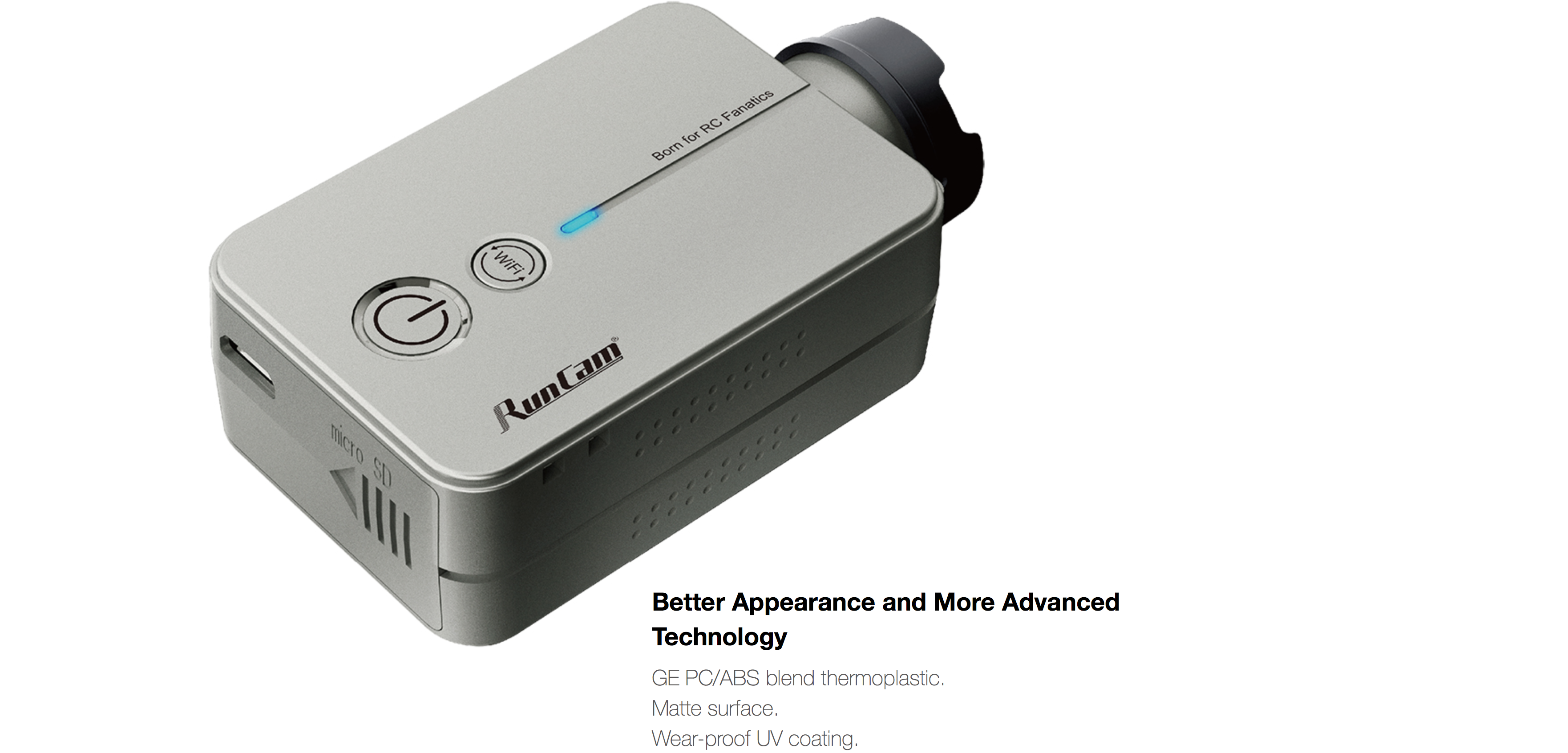 RunCam 2 Better Appearance and More Advanced Technology