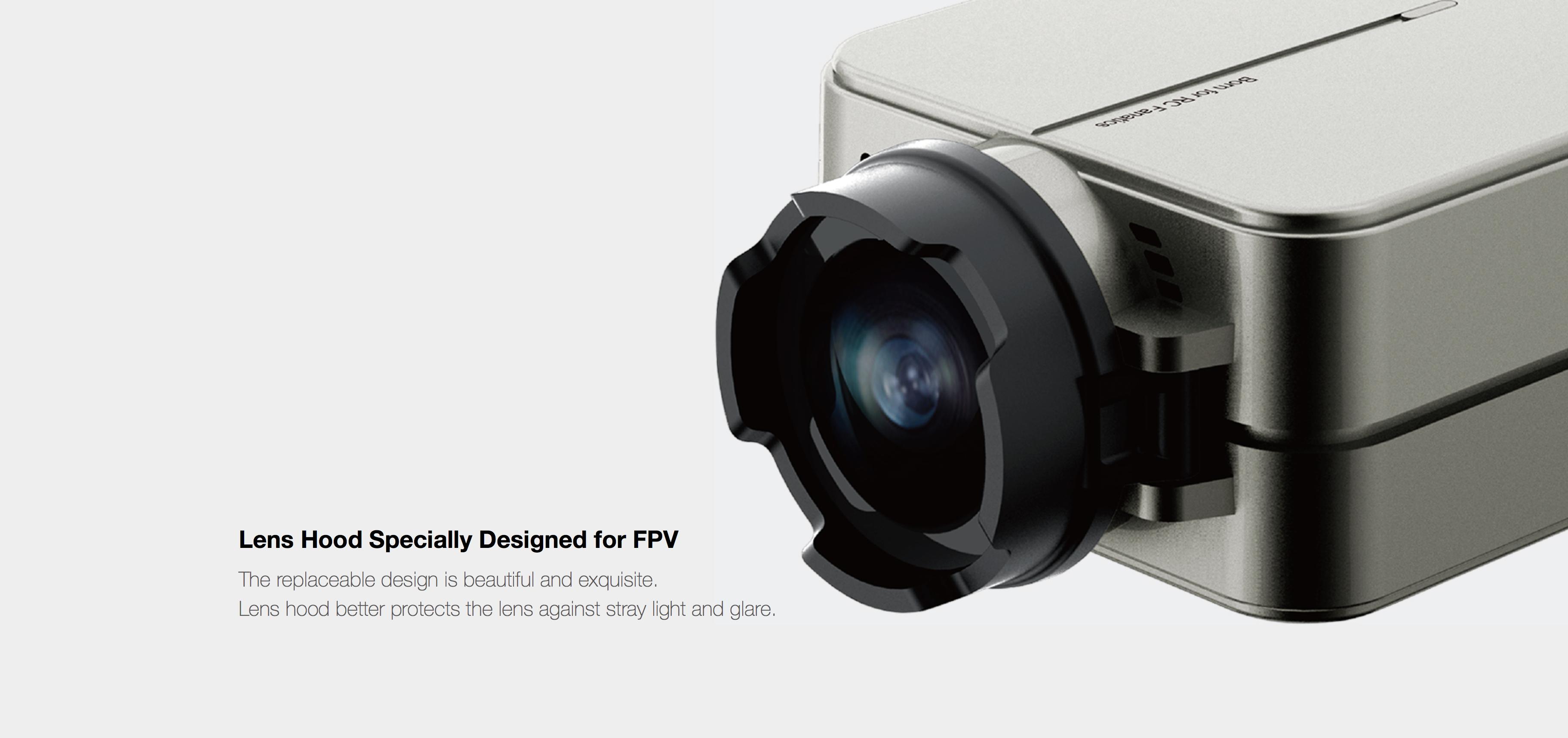 RunCam 2 Lens Hood Specially Designed for FPV
