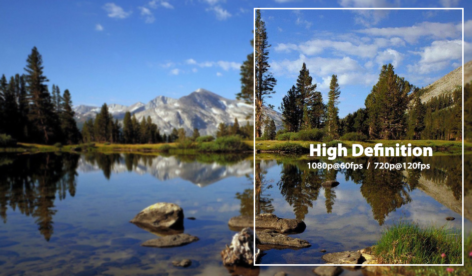 RunCam 2 HD Resolution 1080P 60FPS