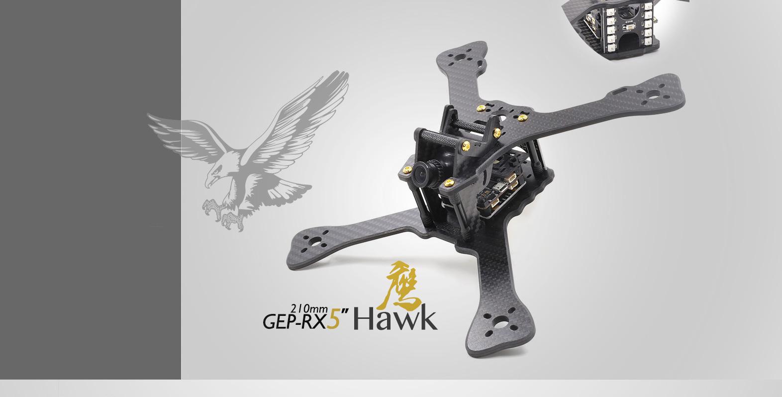 GEPRC GEP-RX5 Hawk 210mm FPV Racing Drone X-Z Frame