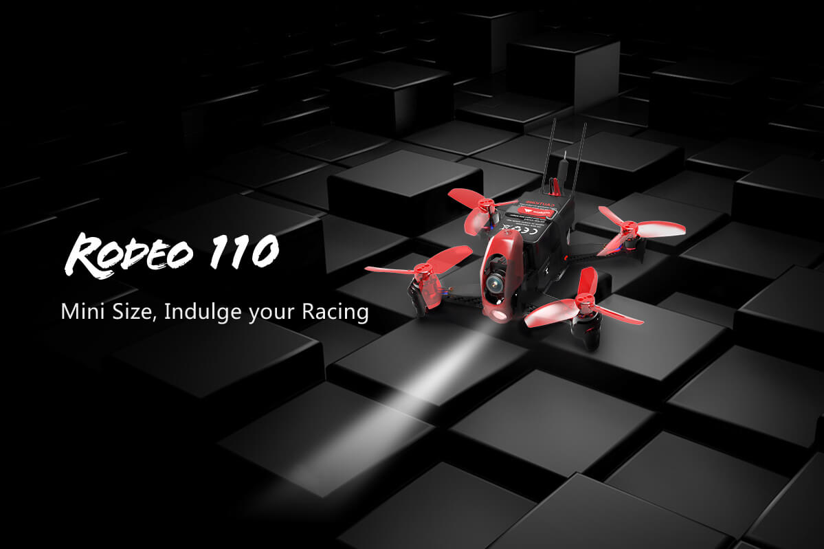 Walkera Rodeo 110 Indoor Fpv Drone With Devo7 Radio Rtf