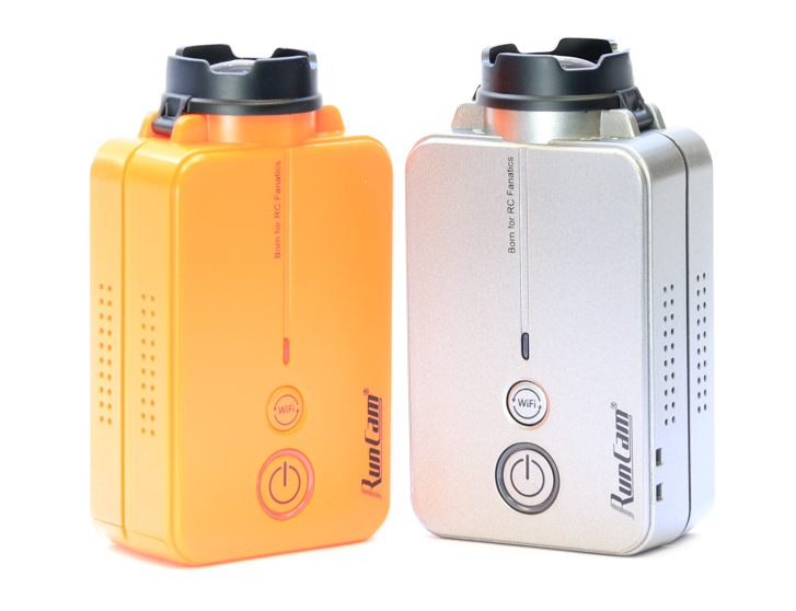RunCam 2 Colour Options Orange Vs. Silver