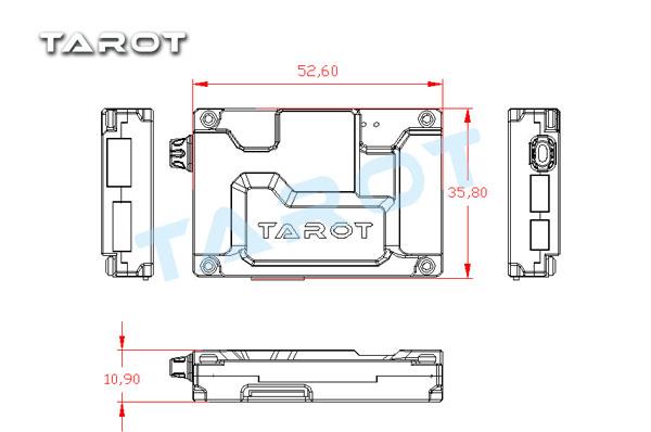 tarot zyx osd overlay system for zyx m fc tl300c flying tech