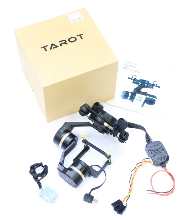 Tarot 3DIII 3-Axis Brushless Gimbal Contents