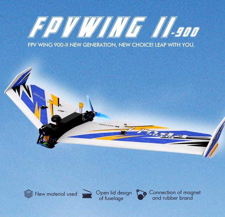 TechOne Hobby FPV Wing 900 II V2 FPV Racer Airplane PNP Banner