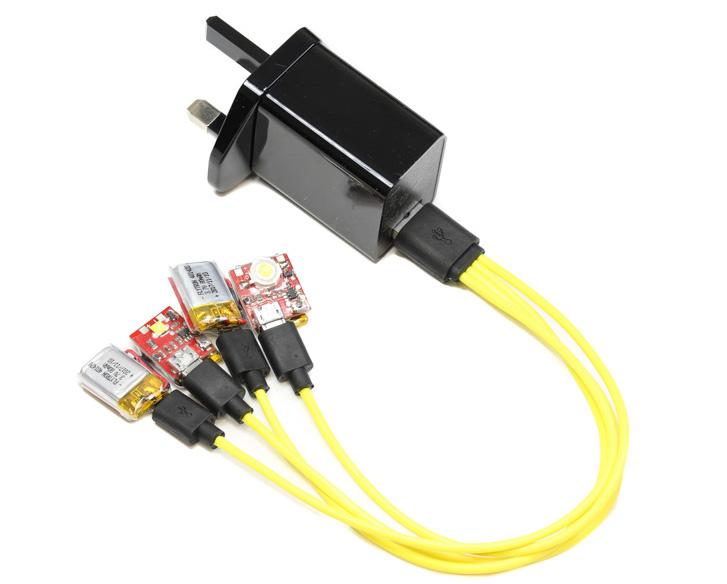 Charging Strobon LEDs