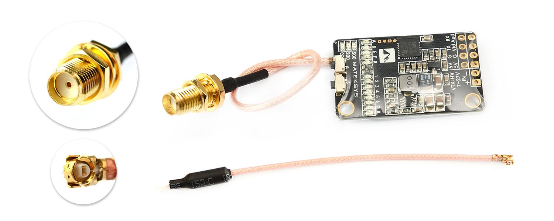 Matek 5.8G VTX-HV UFL pigtail connector