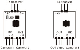 rc 3 channel fpv video switcher flying tech connection diagram 32 86 kb