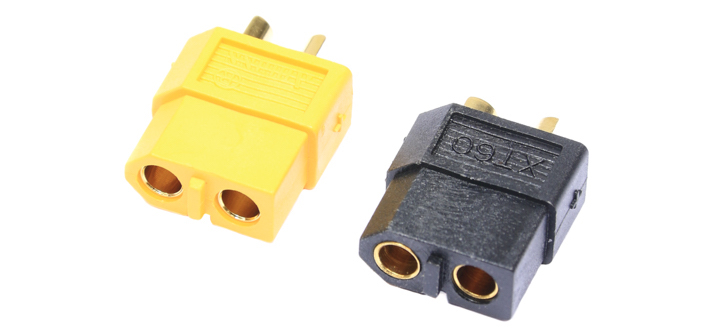 XT60 Connectors Yellow and Black